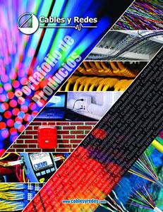 Catálogo Cables y Redes